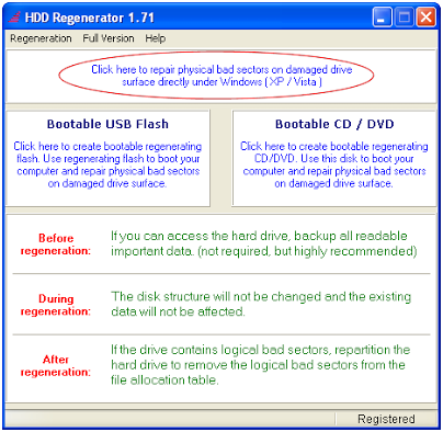 Cara Memperbaiki Hard Disk yang Rusak Karena Bad Sector