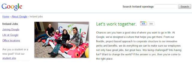 lavora con noi Google