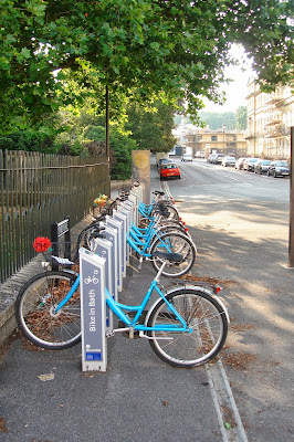 Bike in Bath, Somerset, UK