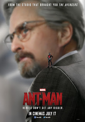 Ant-Man Character Movie Poster Set - Michael Douglas as Dr. Hank Pym