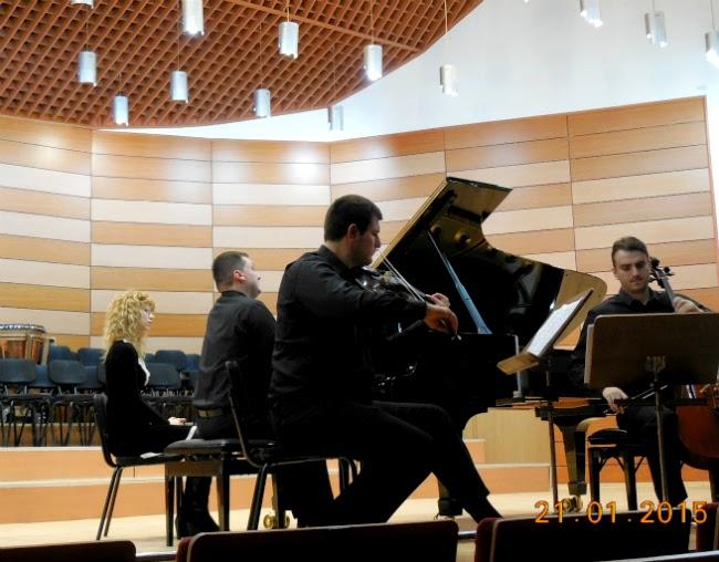 Muzica de camera: un trio formidabil