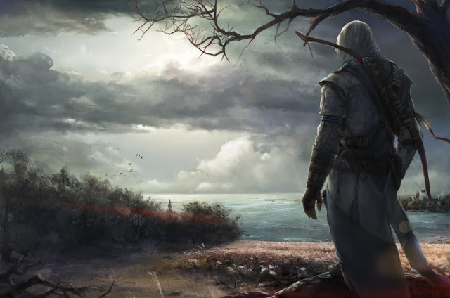 Assassin's Creed III,connor kenway,anime game