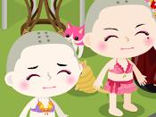 LOL! bald twins