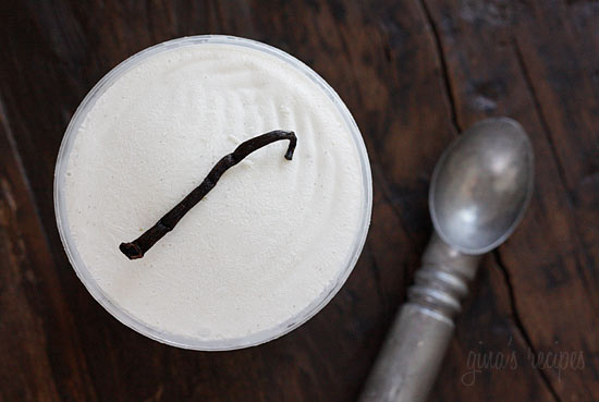 Low Fat Vanilla Bean Frozen Yogurt | Skinnytaste