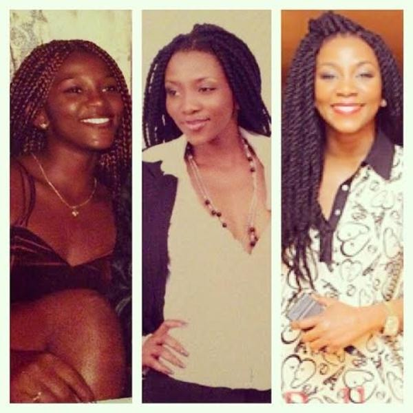 Genevieve's Throwback Pictures