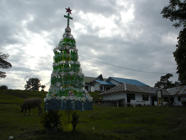 samosir island christmas tree