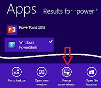 Membuat Tile Shutdown, Restart dan Logoff via Script PowerShell di Windows 8