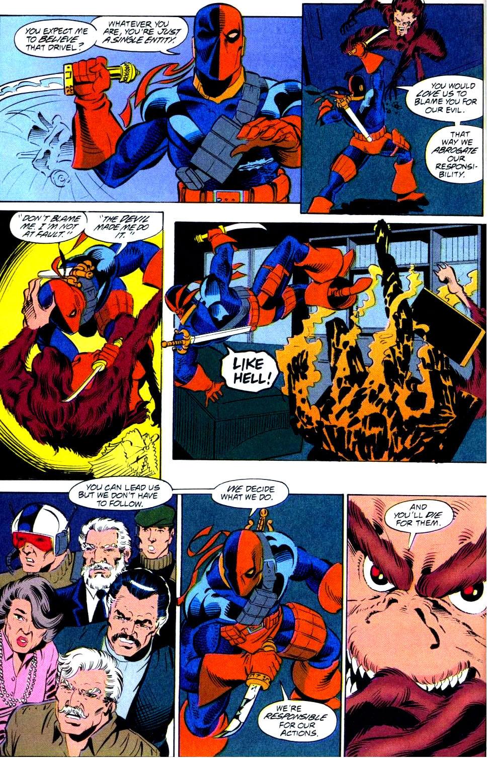 Deathstroke (1991) Issue #38 #43 - English 21