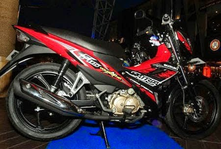 Gambar Suzuki Satria FU 115 Young Star Celebration Red
