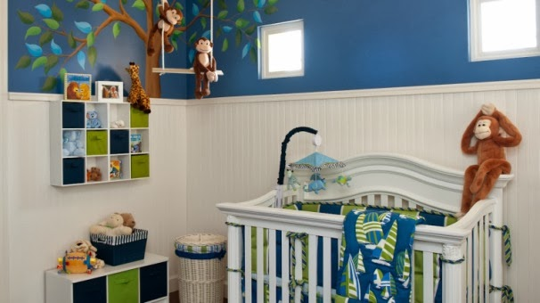 28 baby boys room paint ideas for Baby boy room paint ideas