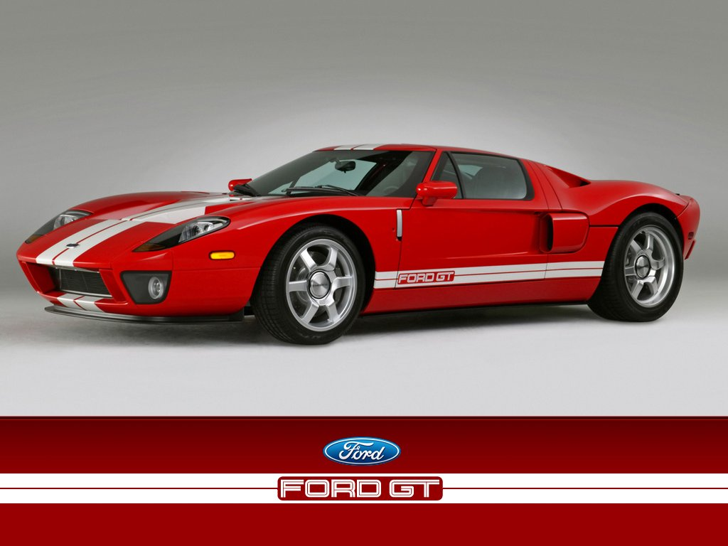 Ford Gt Sports Cars Wallpaper