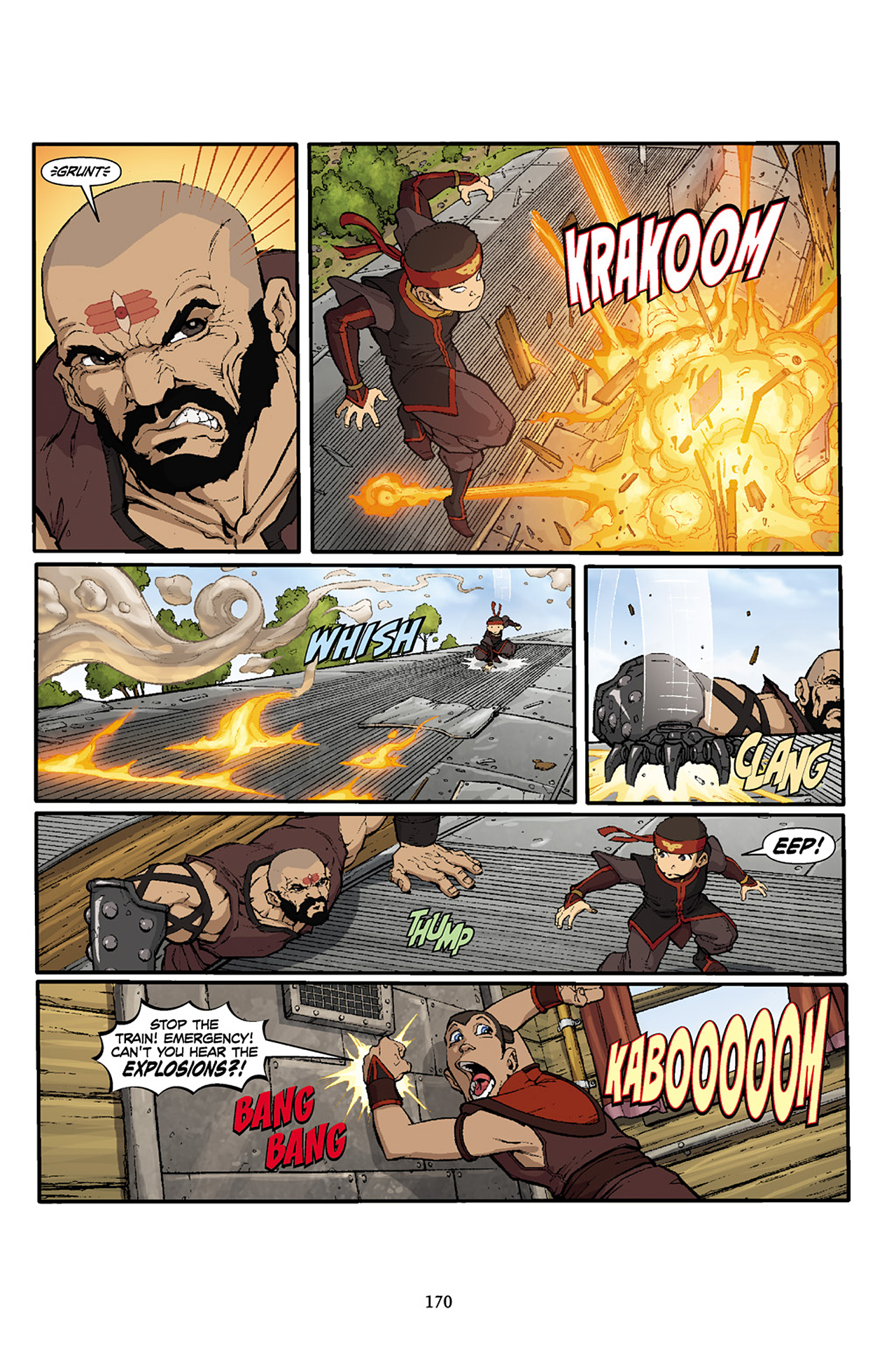 Nickelodeon Avatar: The Last Airbender - The Lost Adventures chap full pic 171