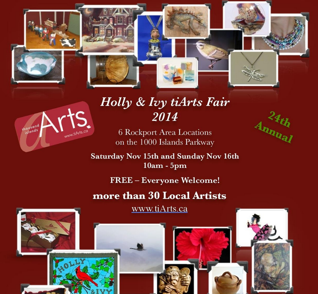 Holly & Ivy tiArts Fair. Rockport ON