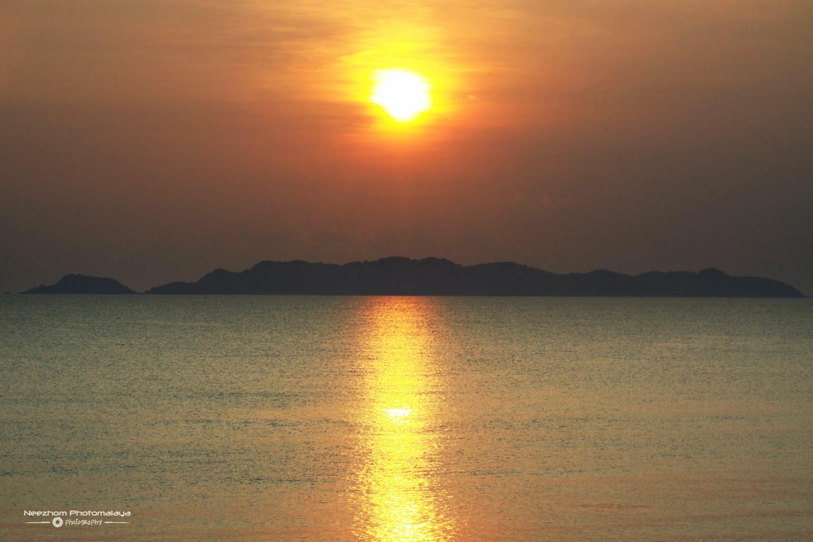Sunrise atas Pulau Kapas