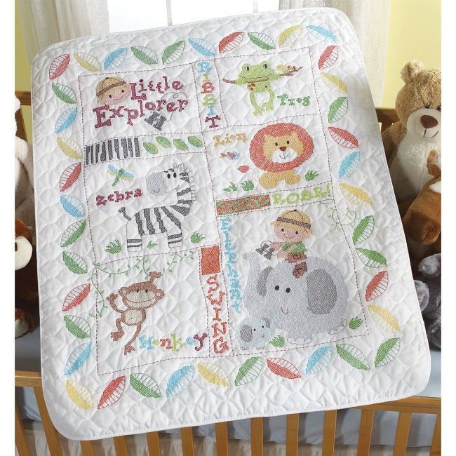 Weekend Kits Blog: Baby Cross Stitch Kits - Safari & Mermaid Themes