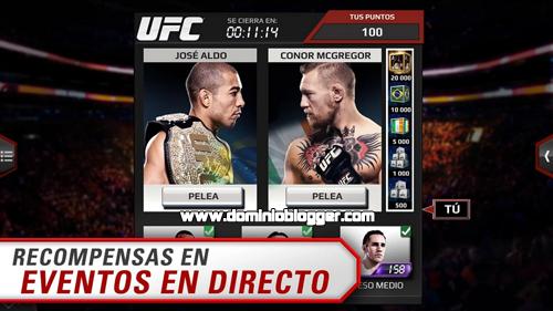 Participa de las mejores peleas de MMA en EA Sports UFC