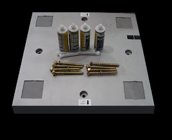 Instalación pastillas de anclajes NORMA UNE 108136