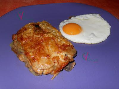 Gratén de champiñón y patata