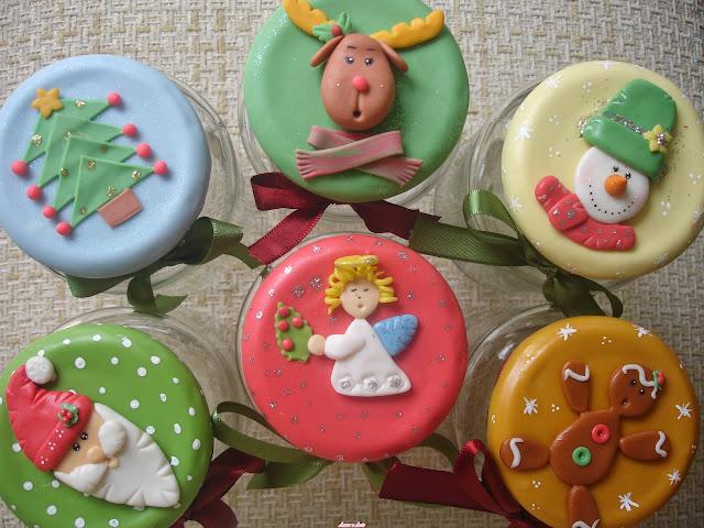 Vidros dedorados para natal, Bolachinha, Anjinho, Papai Noel e Boneco de Neve, Rena, Árvore
