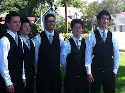 Alex, Justin, Josh, Sam & Miles