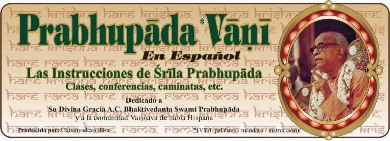 Prabhupāda vāṇī español