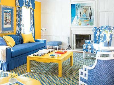 Colors In Interior Designs