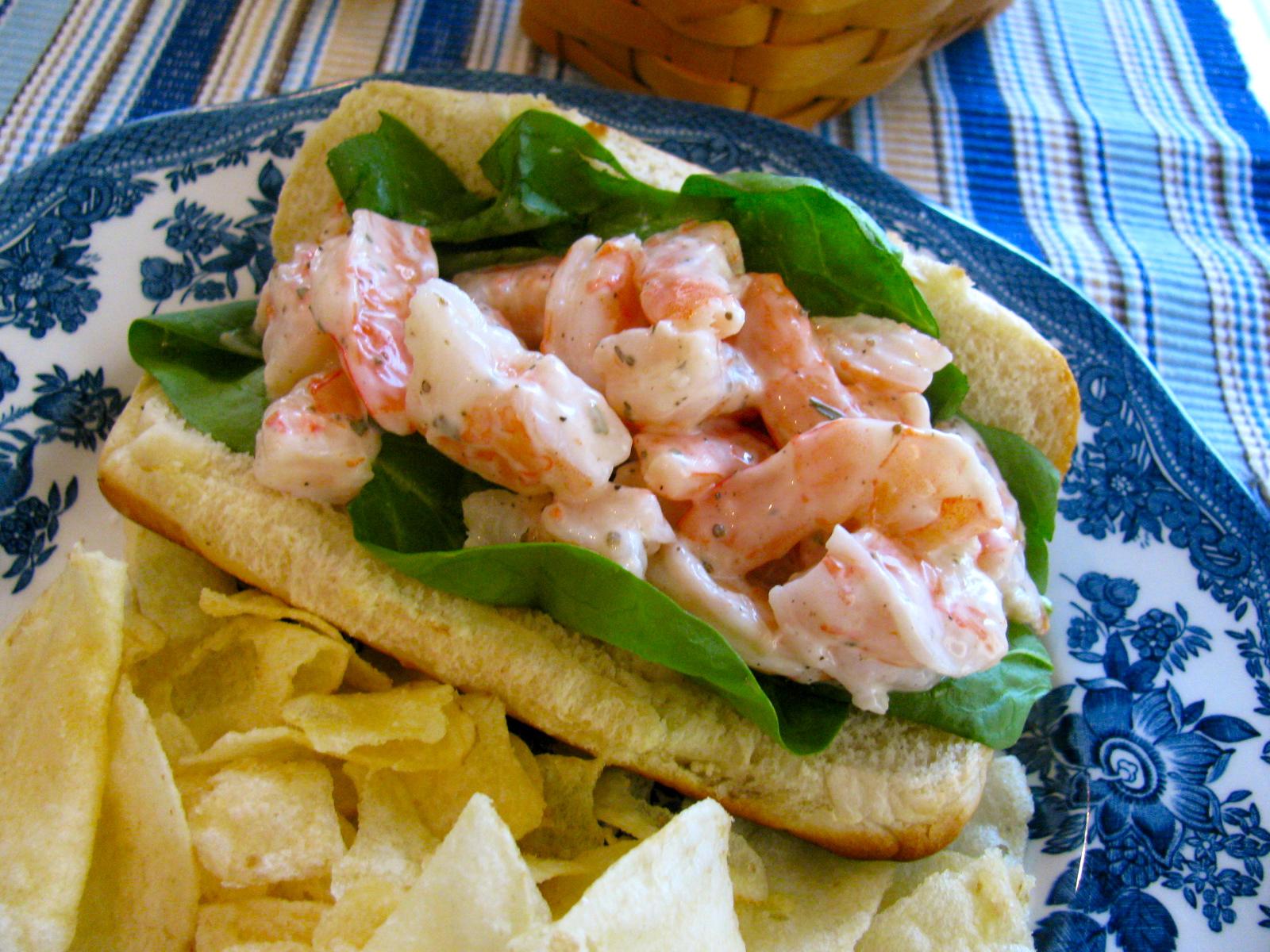 Rita's Recipes: A Shrimp Roll