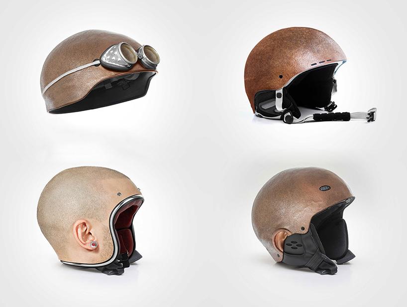 Pakai Helm Unik Ini Seolah Anda Tak Memakainya
