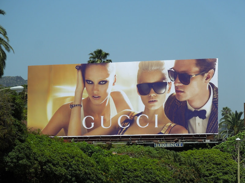 Gucci sunglasses 2012 billboard