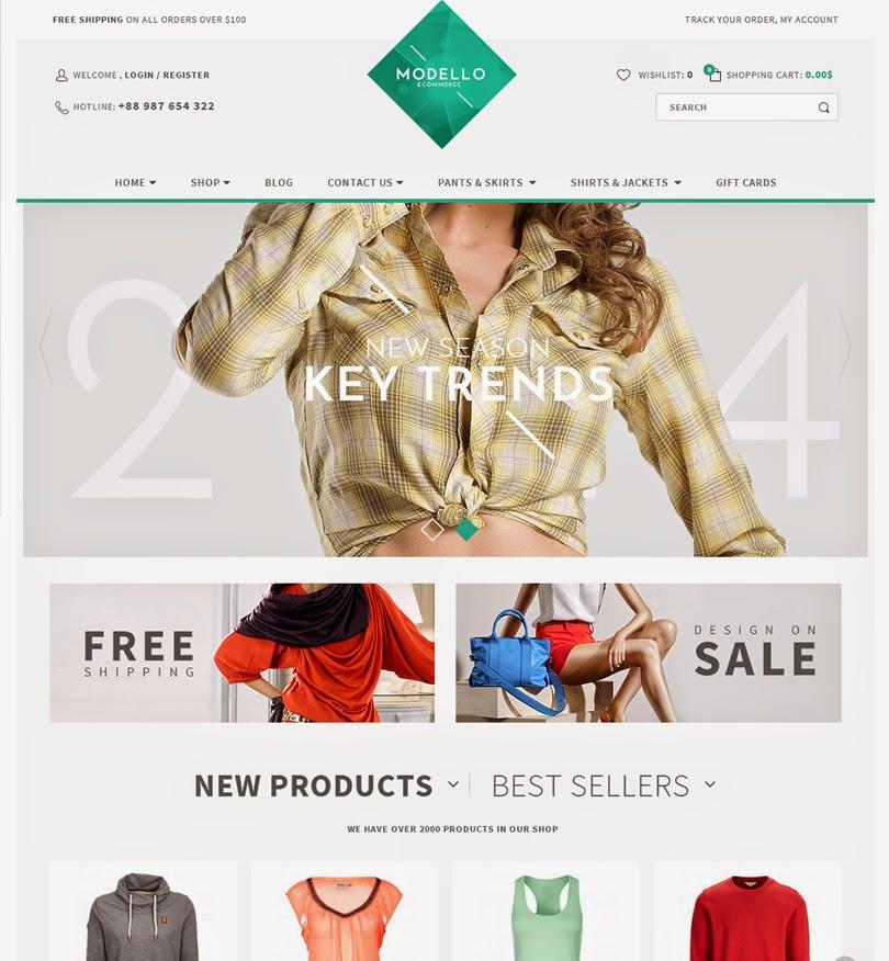 Modello – Responsive eCommerce WordPress Theme
