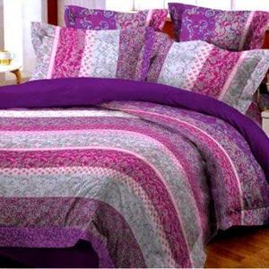 Bed Cover Indah nan Sederhana