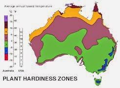 Hardiness Zones Australia
