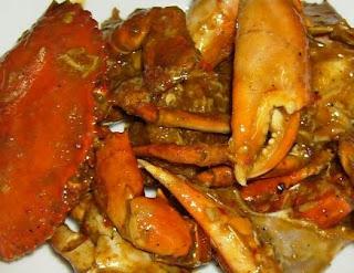 resep kepiting hitam manis