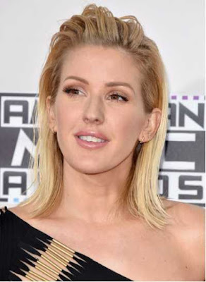 model rambut wet look - Ellie Goulding_652287