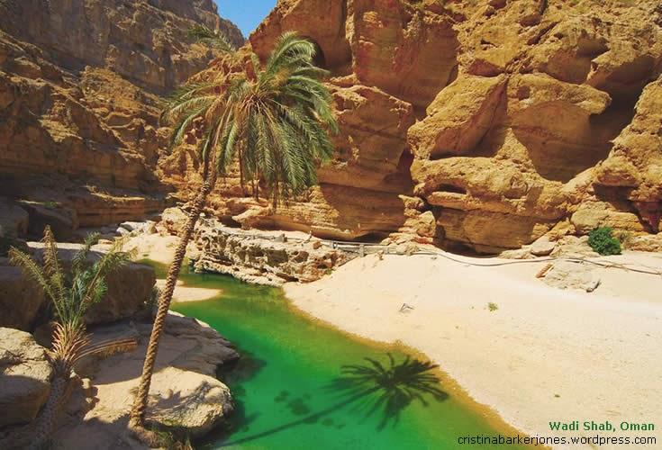 Wadi Shab, Oma