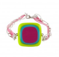 8 Petals handcrafted fused glass jewelry