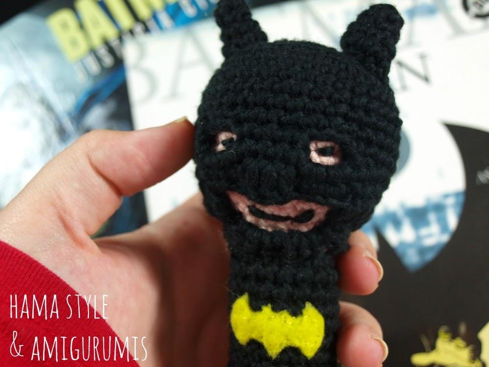 Marta Ruso Crochet Creativo: Sonajero Batman - [PATRÓN GRATIS]