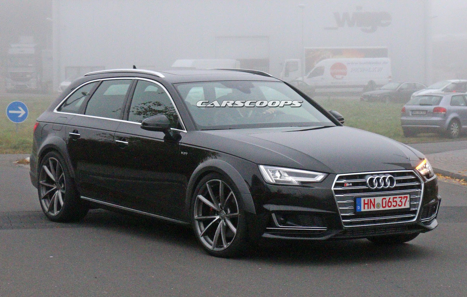 b9 audi rs4 avant spied testing. Black Bedroom Furniture Sets. Home Design Ideas