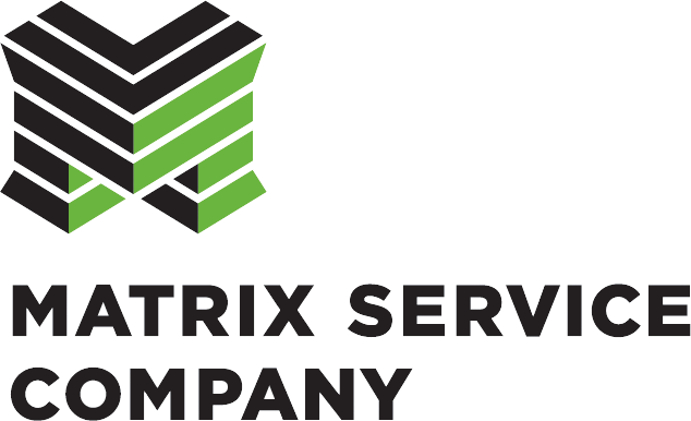 Matrix Service Company logo 2012