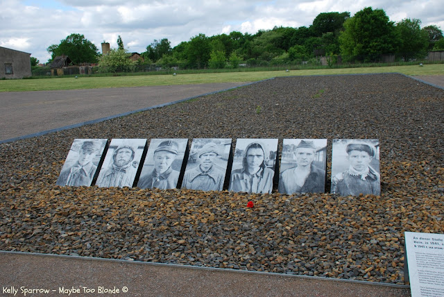 Mass grave Sachsenhausen concentration camp