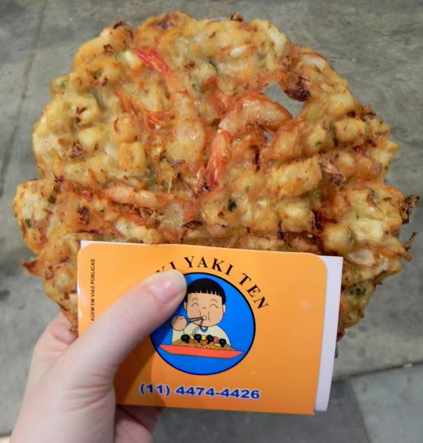 o melhor tempura que já comi