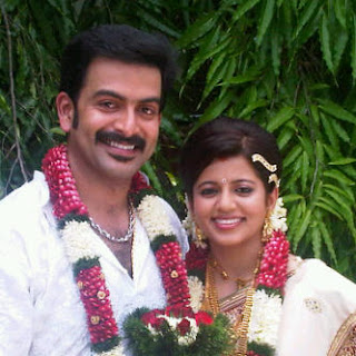 Prithviraj Sukumaran's wedding