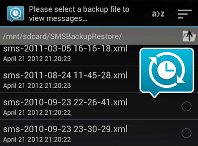 recover deleted messages using SMS Backup and Restore