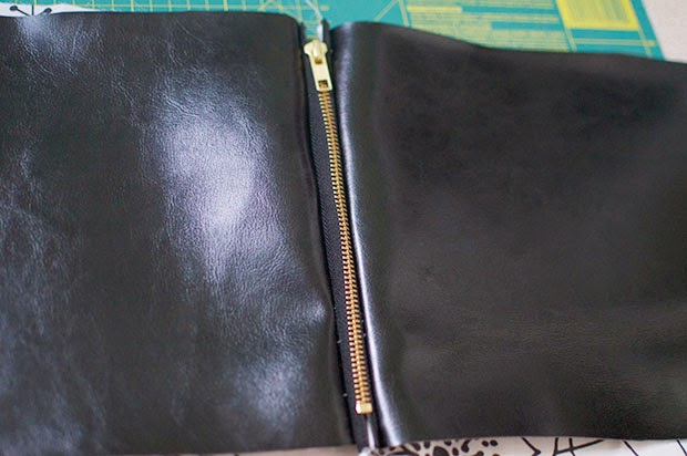 HOW TO MAKE FOLDOVER CLUTCH BAG DIY