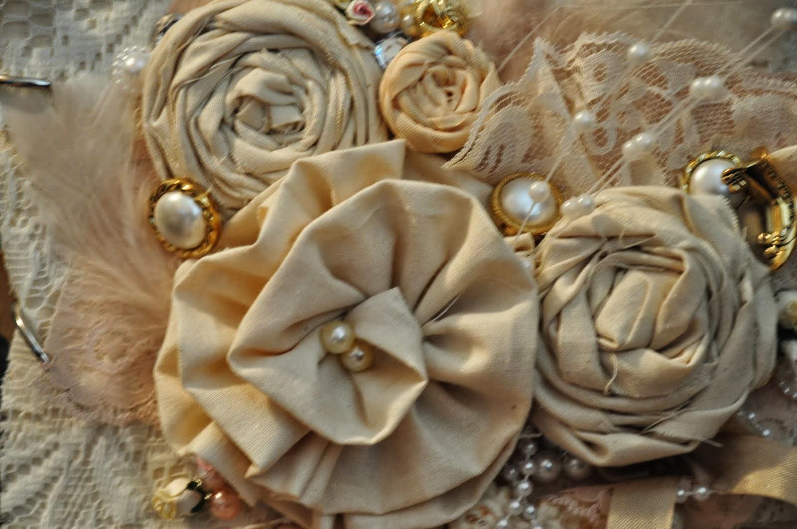 Handmade Muslin Flowers