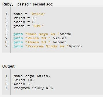 Mengenal Variabel dalam Ruby on Rails