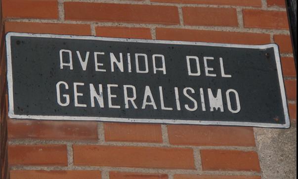 1.171 calles de toda España siguen homenajeando a la dictadura fascista