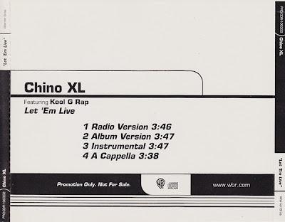 Chino XL – Let Em Live (Promo CDS) (2000) (320 kbps)