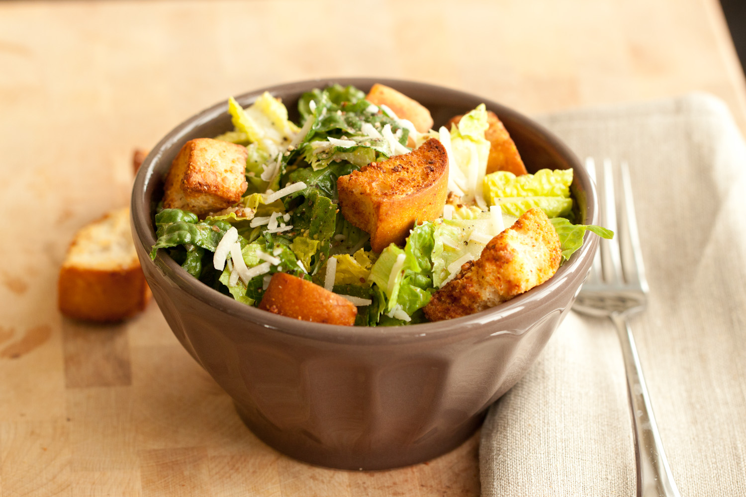 CUP OF JO: The Best Caesar Salad (with a new dressing)