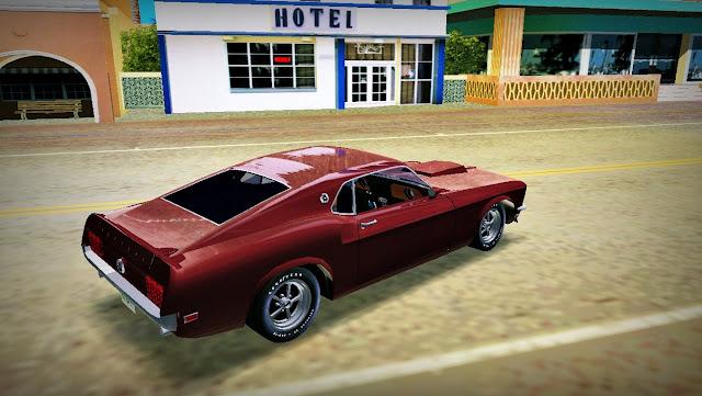 Ford Mustang Boss 429 1969 GTA Vice City